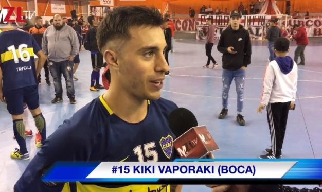 """KIKI"" VAPORAKI: ""FUIMOS SUPERIORES TODO EL PARTIDO"""