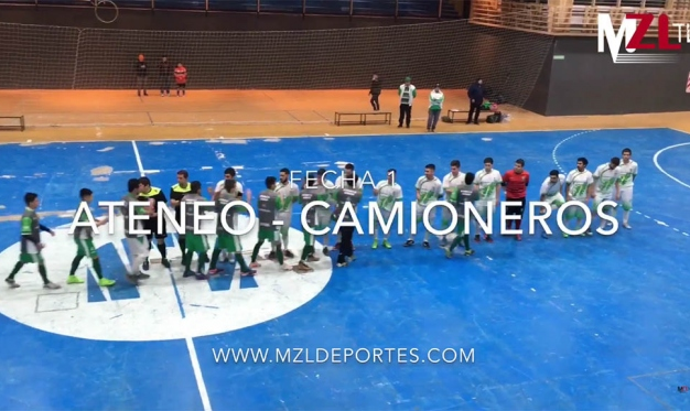 ATENEO PEGÓ PRIMERO EN LA LIGA NACIONAL: FUE 6-3 A CAMIONEROS