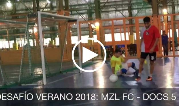 DESAFIO VERANO 2018: MZL FC 11-7 DOCS 5