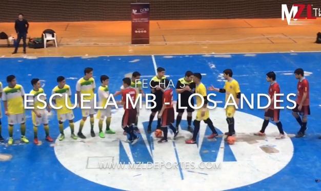 LOS ANDES SUMÓ SU PRIMER TRIUNFO: FUE 4-0 ANTE ESCUELA MB