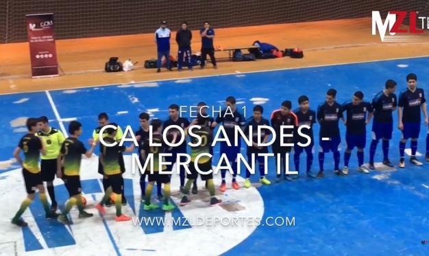 MERCANTIL Y LOS ANDES BRINDARON UN SHOW DE GOLES: FUE 13-8 EN EL DEBUT DE AMBOS